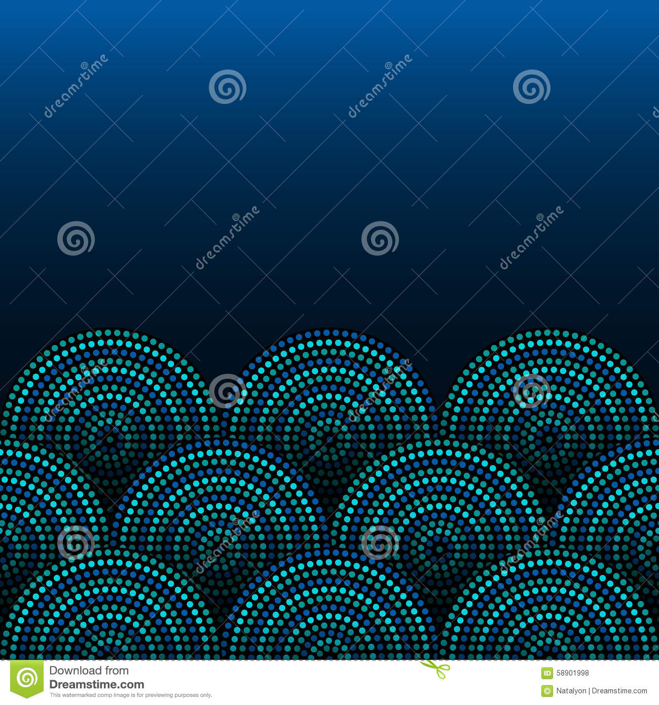 Australian aboriginal geometric art concentric circles seamless royalty free vector download australian aboriginal geometric art toneelgroepblik Image collections