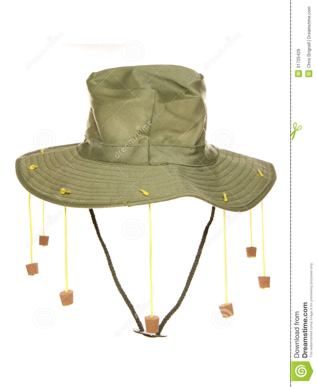 Australian Cork Hat Royalty Free Stock Images - Image: 31725429