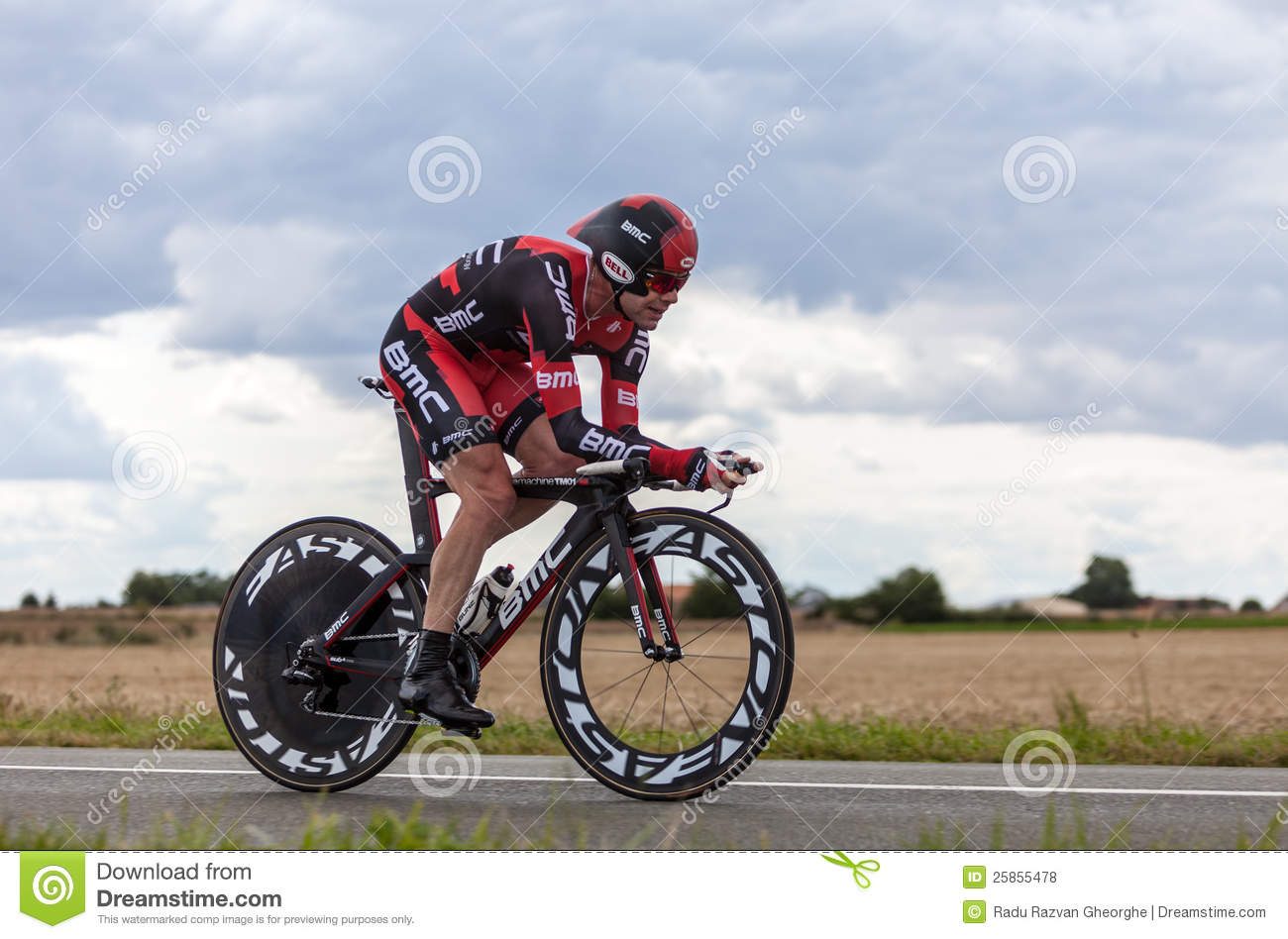 The Australian Cyclist Evans Cadel Editorial Stock Photo ...