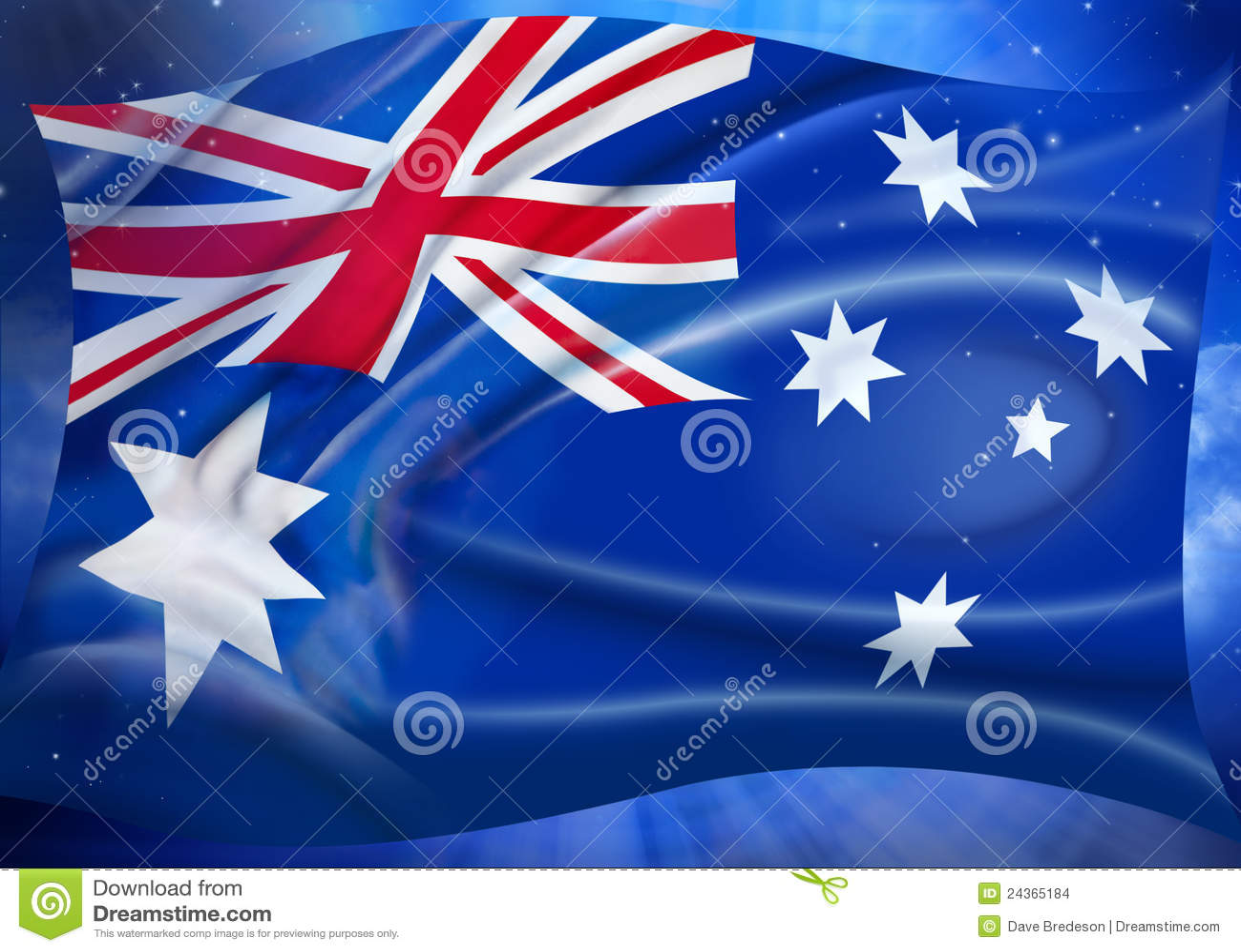 australian flag sky stars background stock images image 24365184