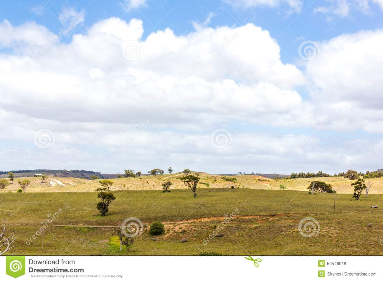 Australian landscape stock photo image 50546918 for Landscapers adelaide western suburbs