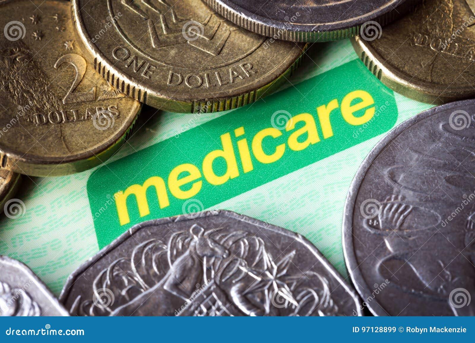 Australian Medicare Card and Money