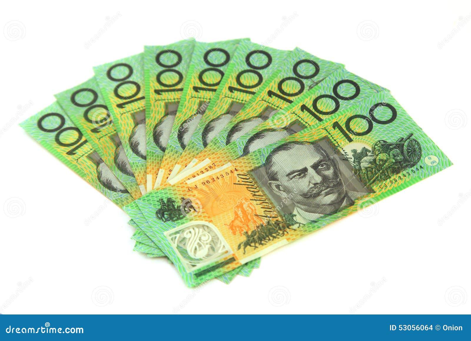 how to get money in australia