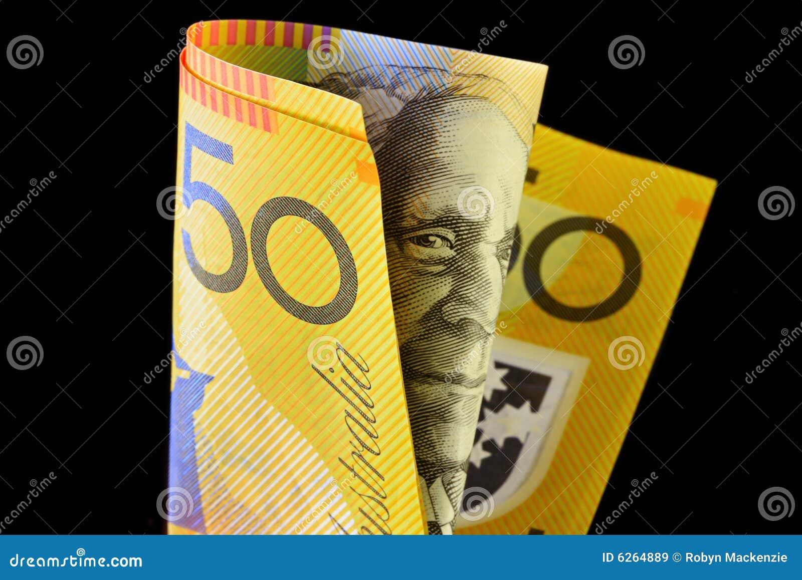 Australian nota de cinqüênta dólares
