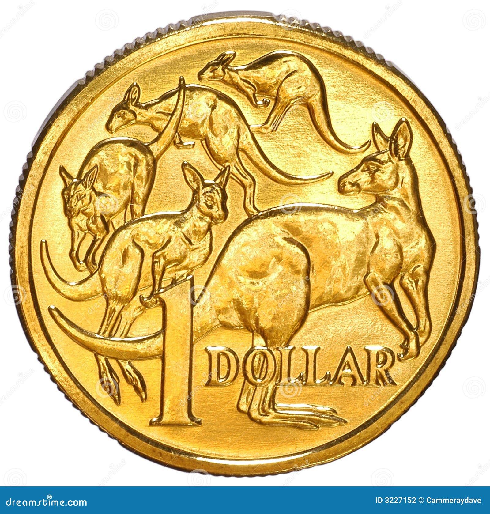 Australian One Dollar Coin Stock Photography - Image: 3227152