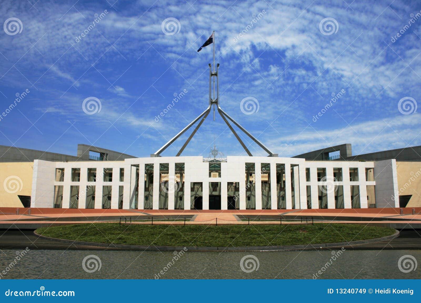 Australian Parliament Building, Canberra Stock Image - Image
