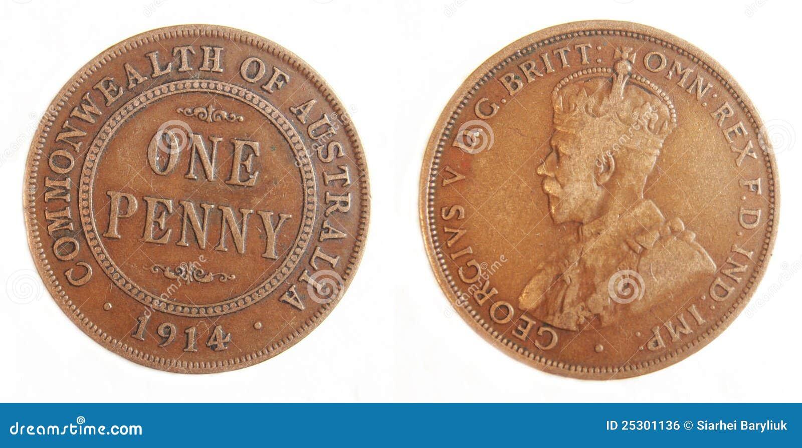 old pre decimal coins