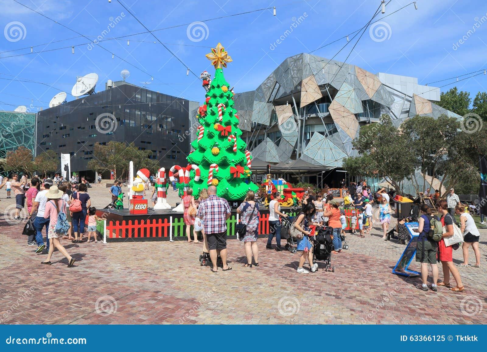 Les Traditions De Noel En Australie australie de noël de melbourne image éditorial - image du