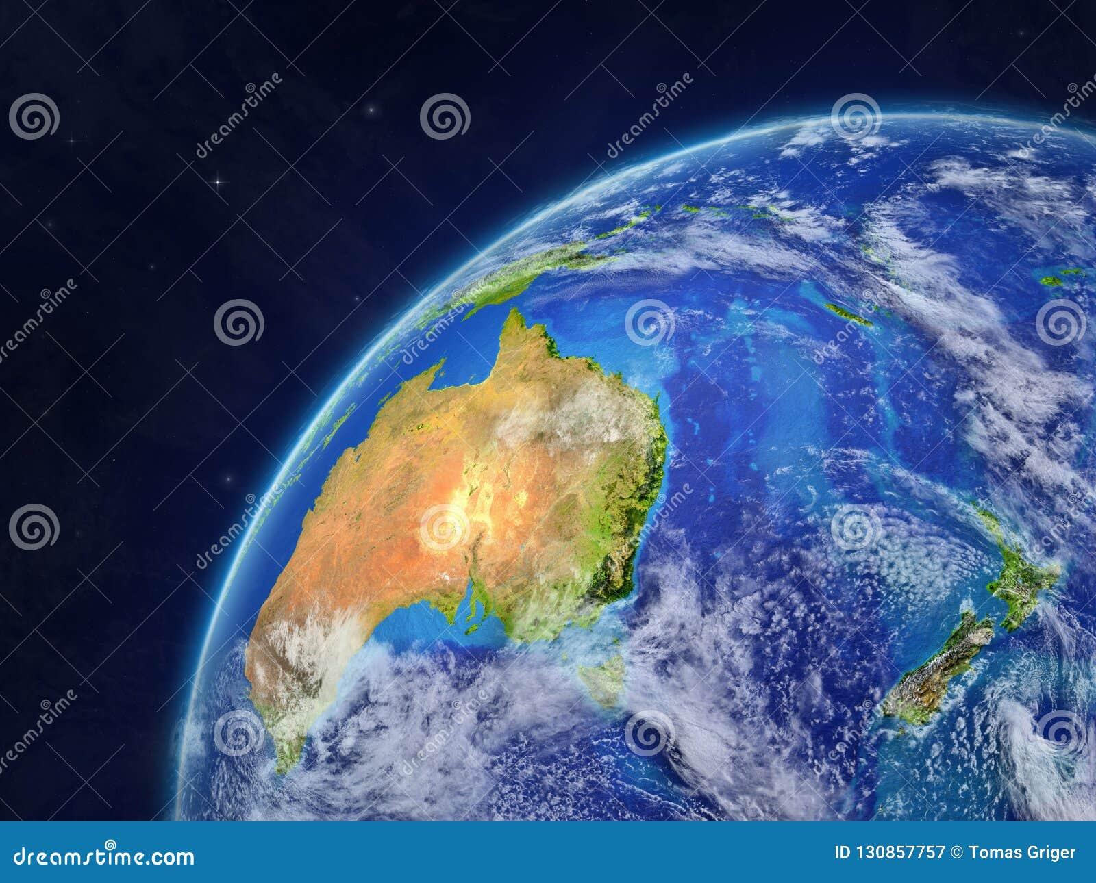 Australie sur terre