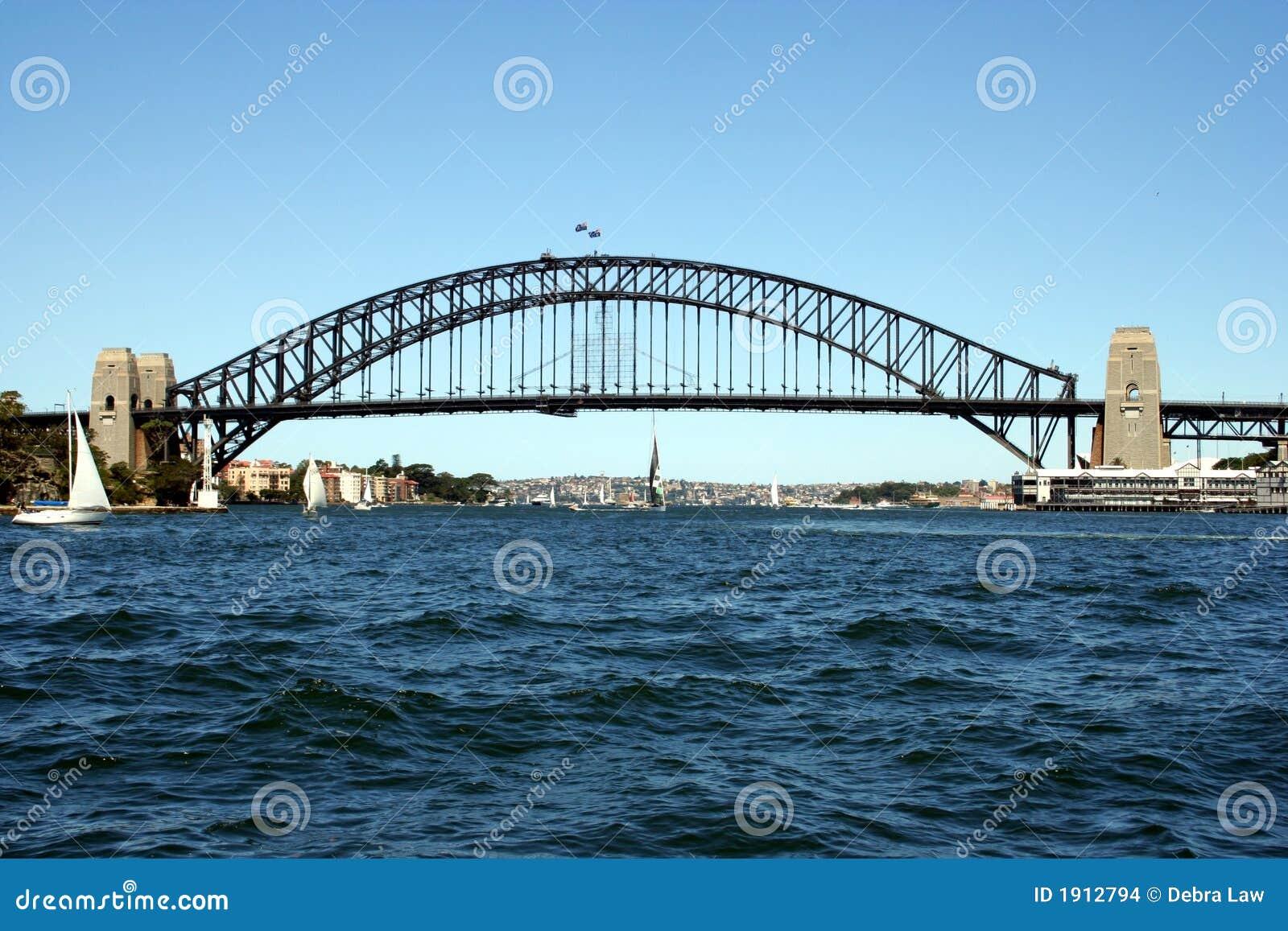 Australien bridghamn sydney