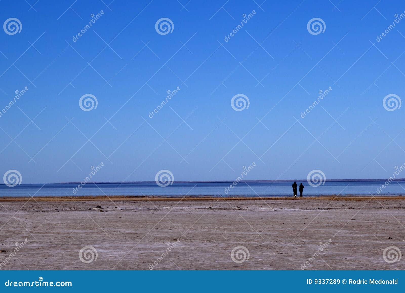 Australien central eyre lake