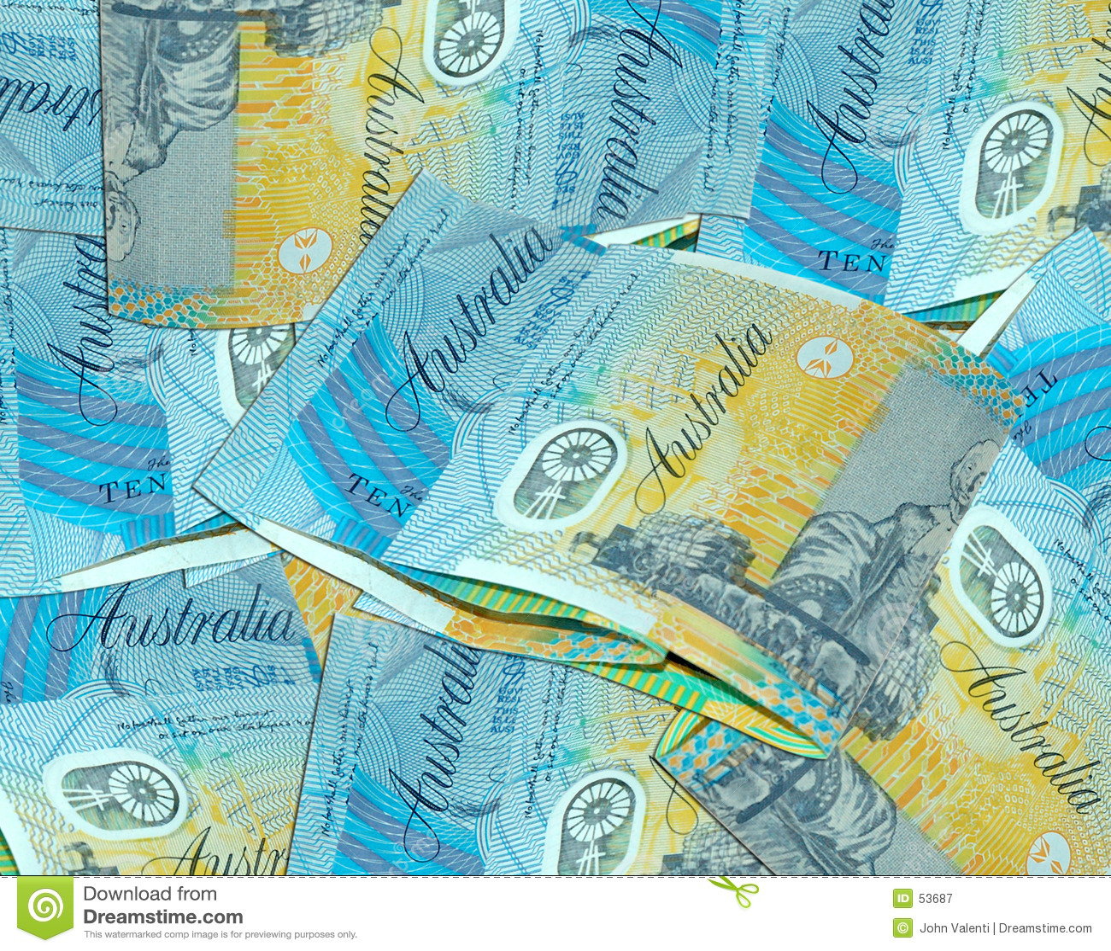 Australien dix dollars