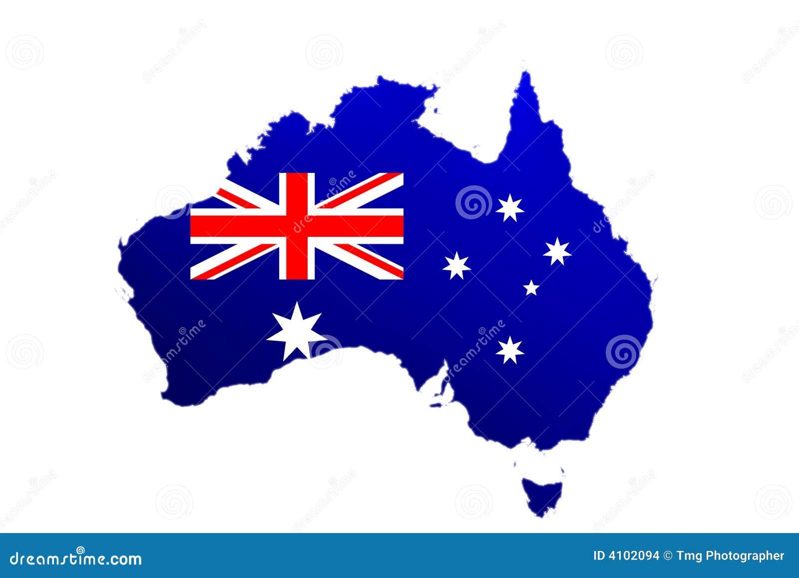 Australien flaggaöversikt