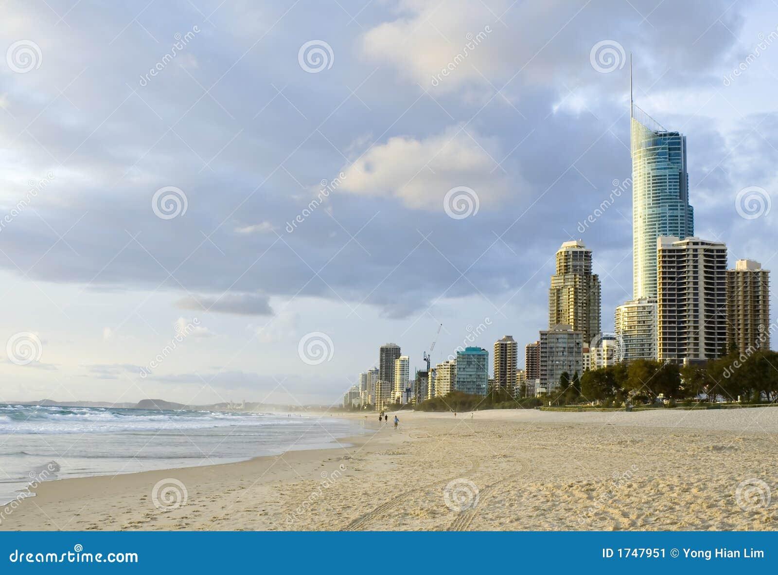 Australien kustguld queensland