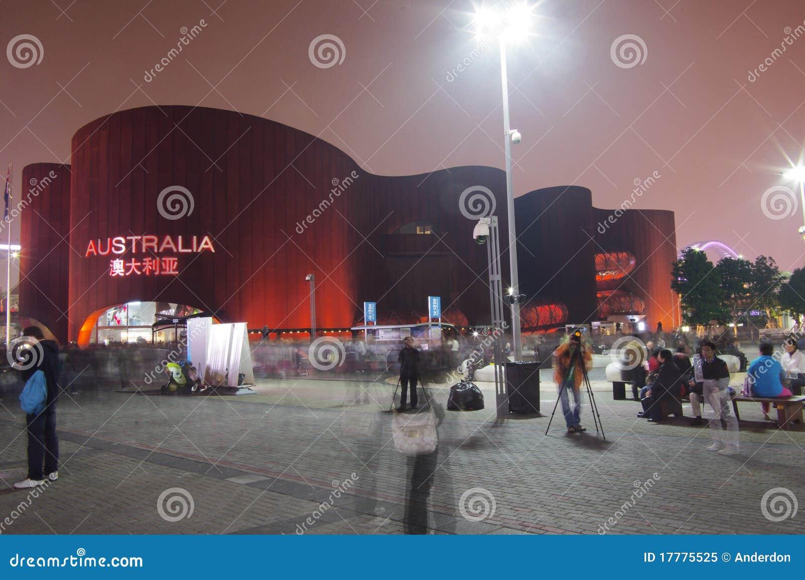 Australien-Pavillion in Shanghai Expo2010 China