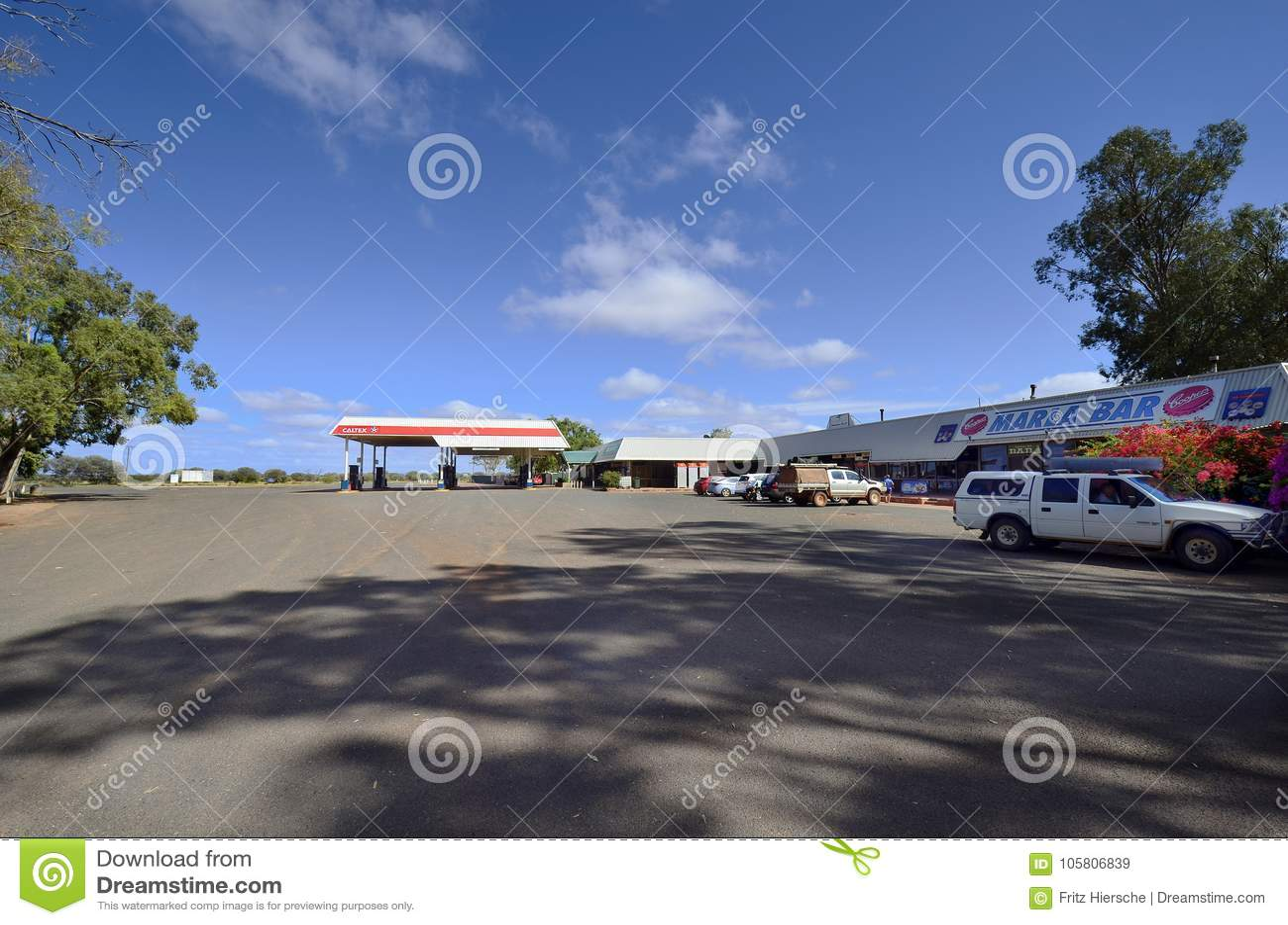 Australien, Süd-Australien, Straßenhaus