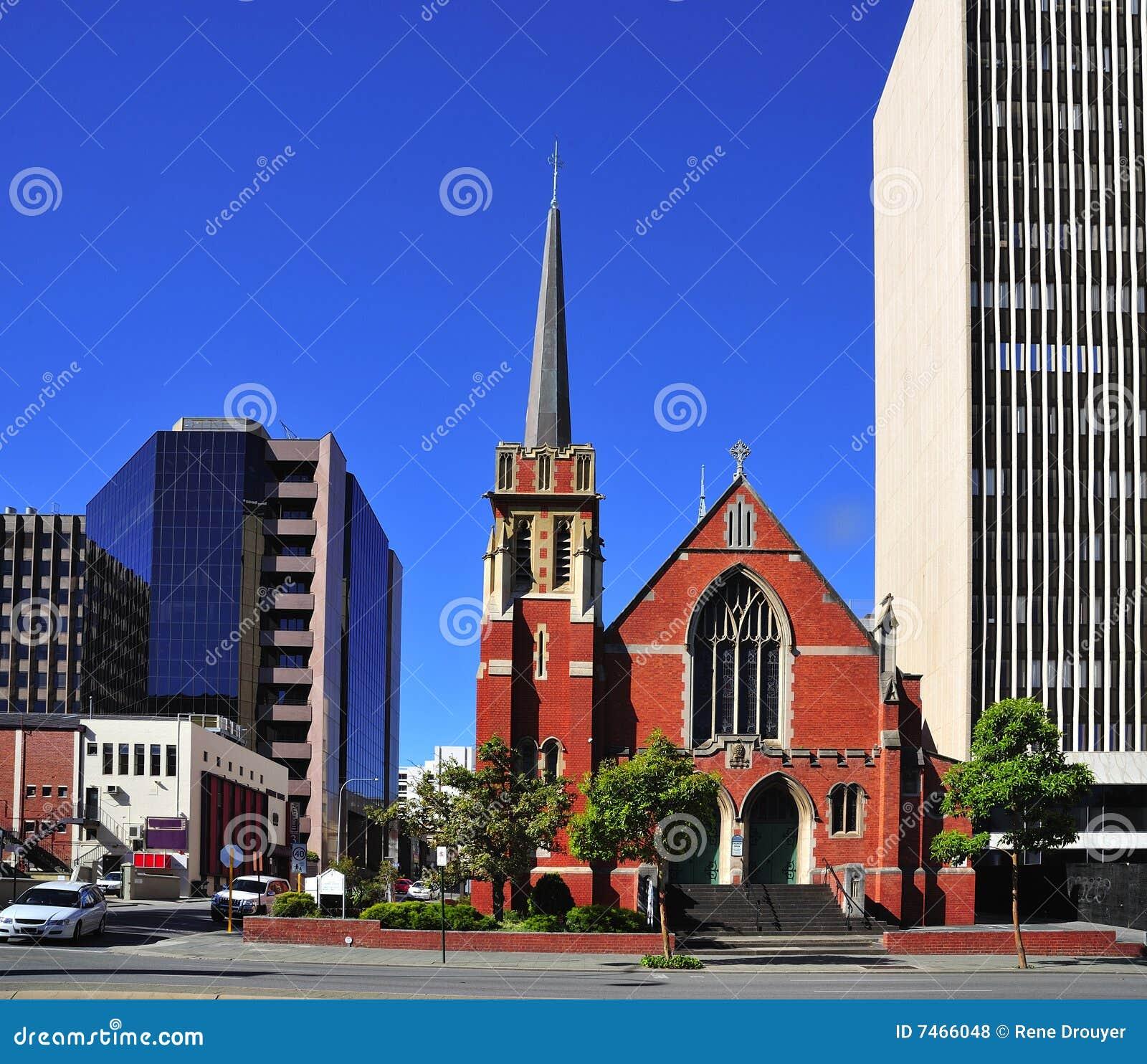 Australien-Stadt Kirche der Perth-Str.-Andrew