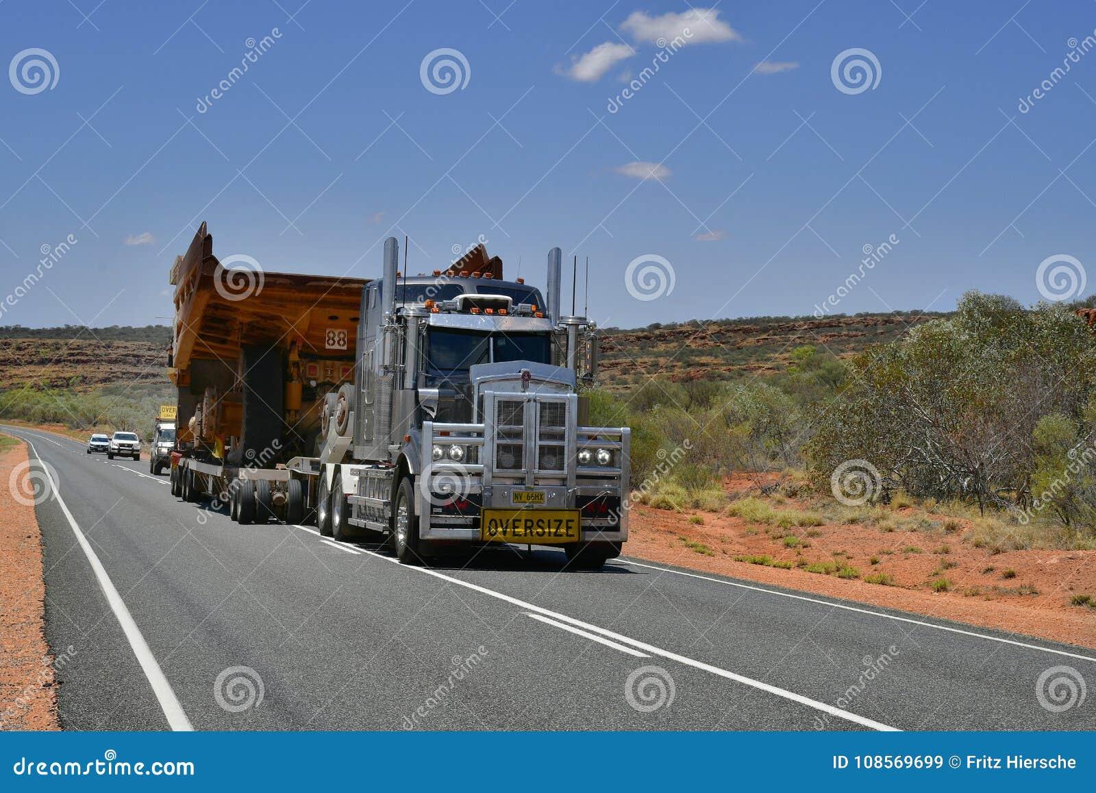 Australien, Transport, Industrie, LKW