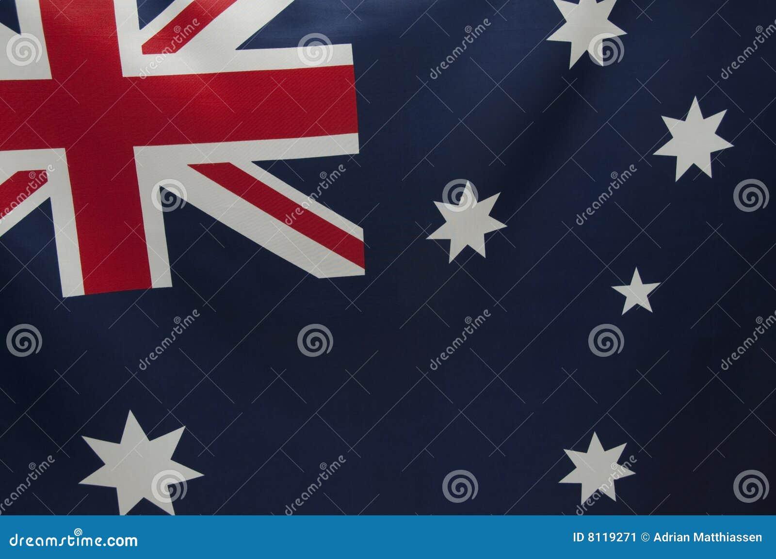 Australijczyk chorągwiane serie