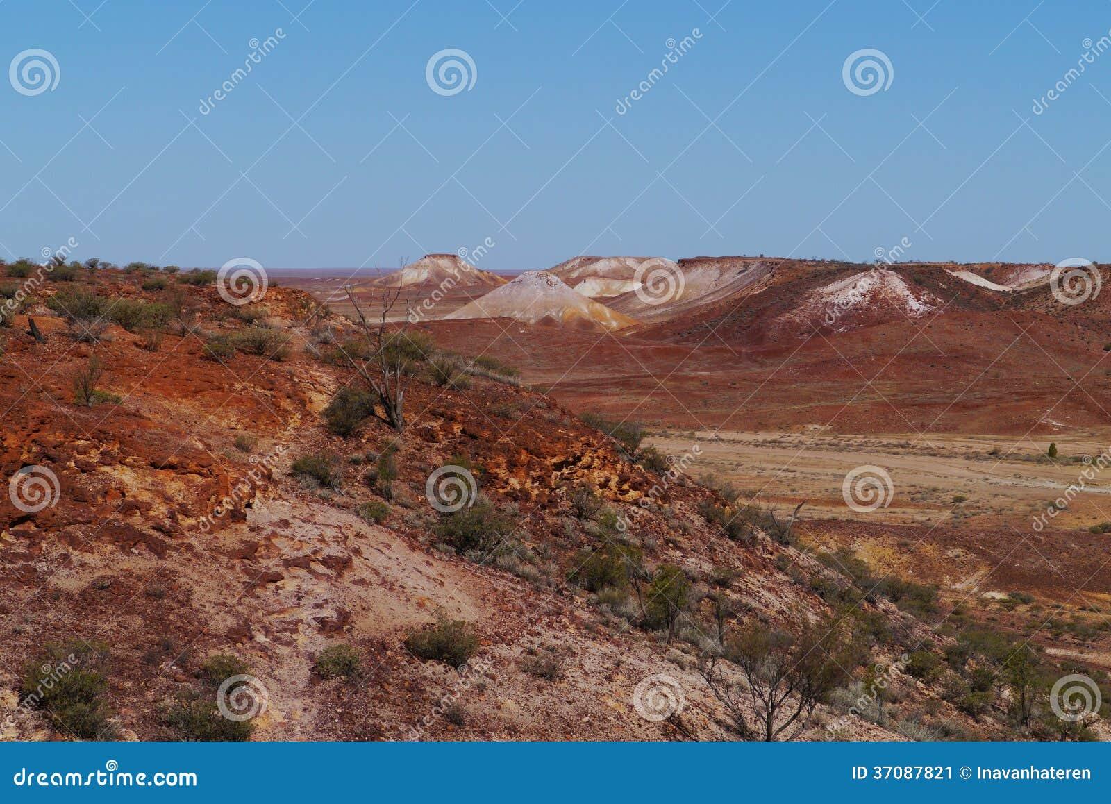 Download Australijska Breakaways Rezerwa Obraz Stock - Obraz złożonej z kolorowy, plateau: 37087821