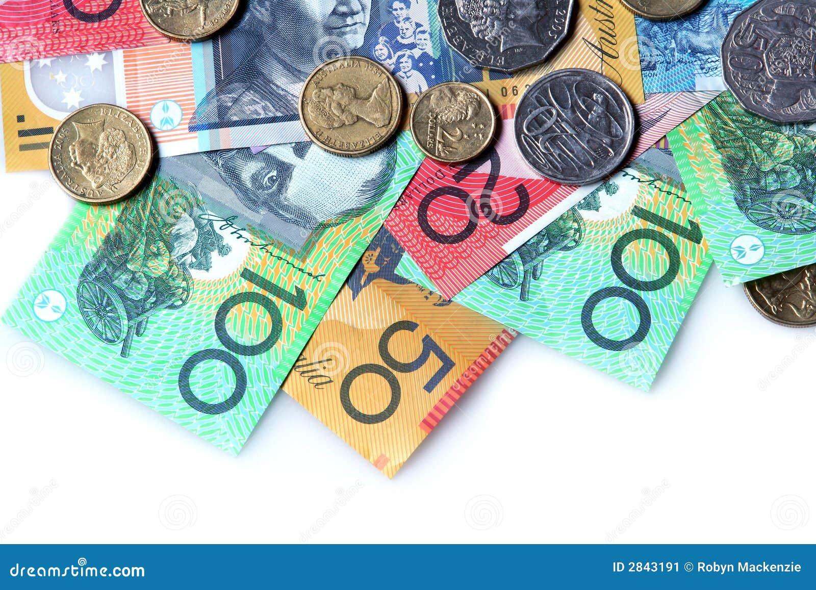 Australijski pieniądze