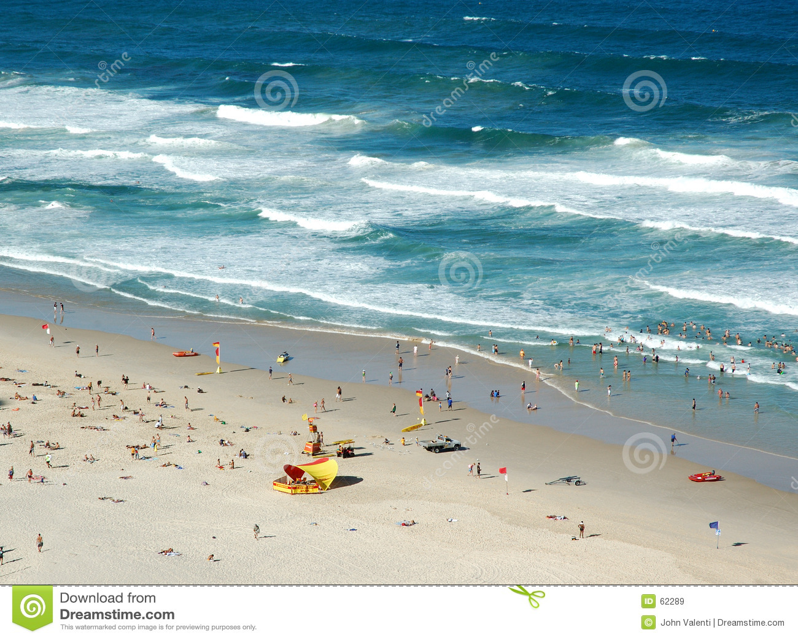 Australijski scena plażowa