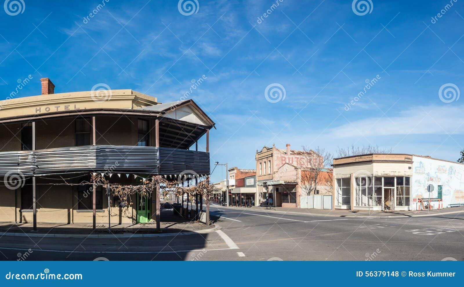 Australijski wiejski miasteczko
