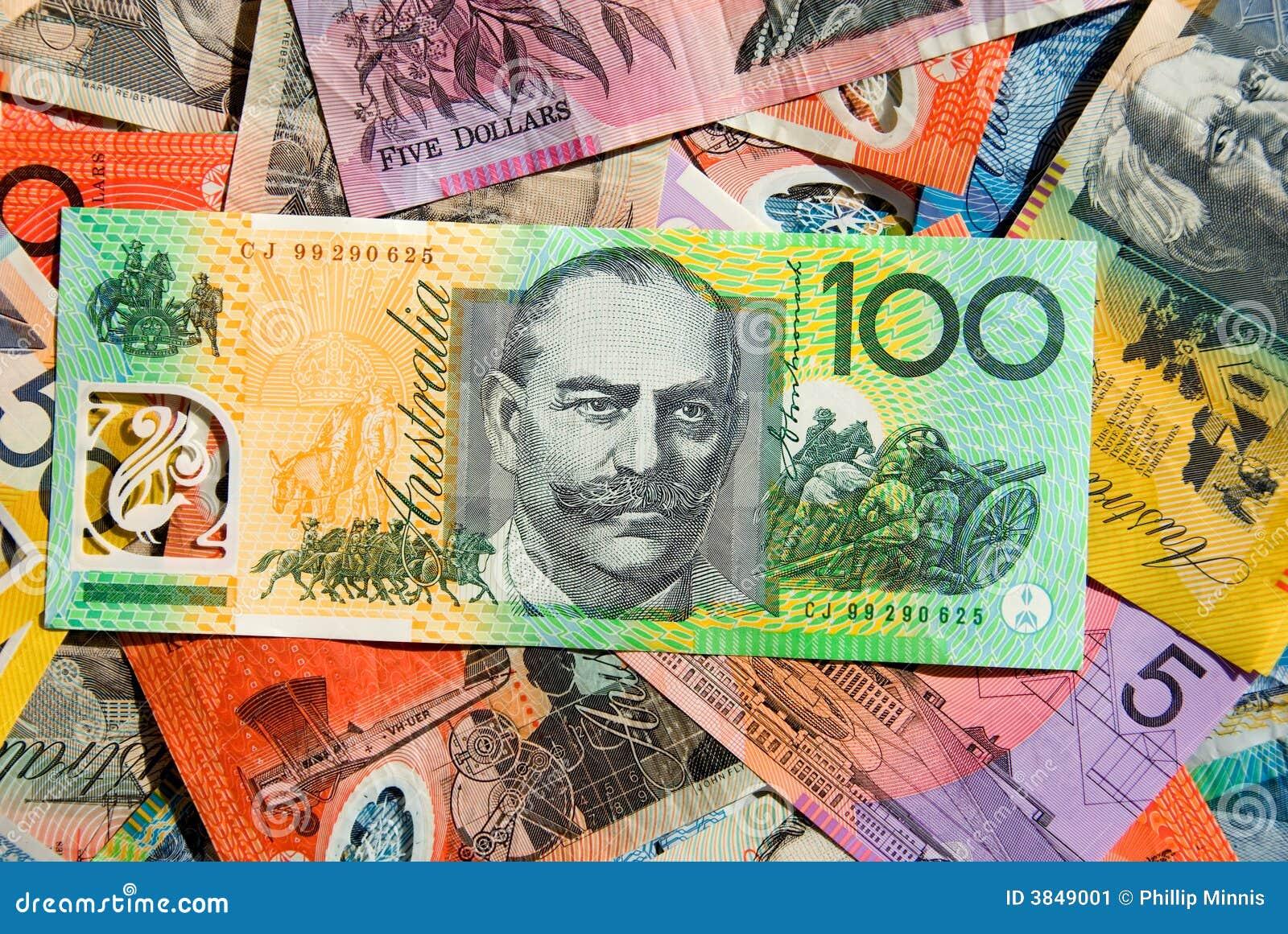Australijskiej waluty