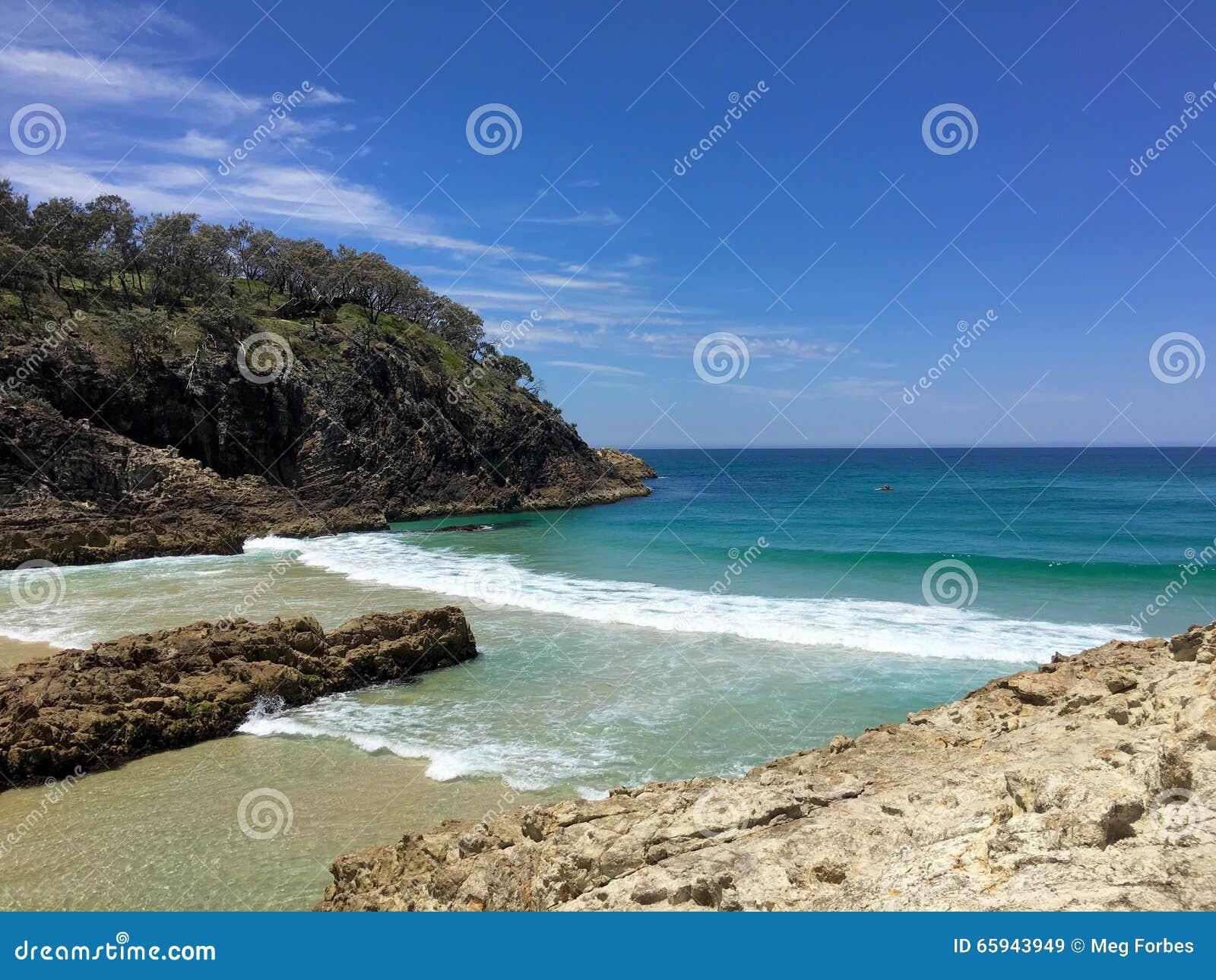 Australisch de zomerstrand