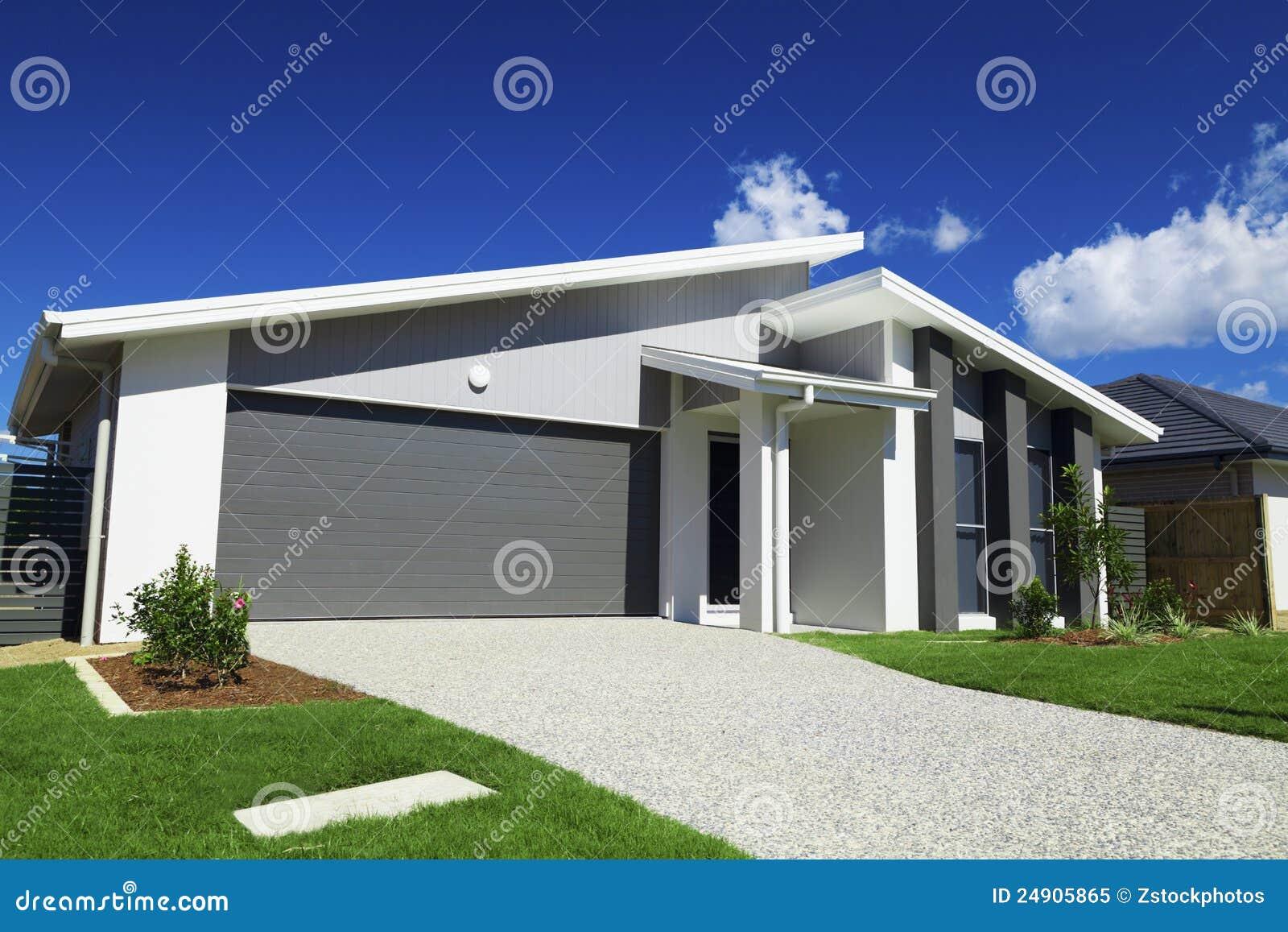 Australisch Huis in de voorsteden