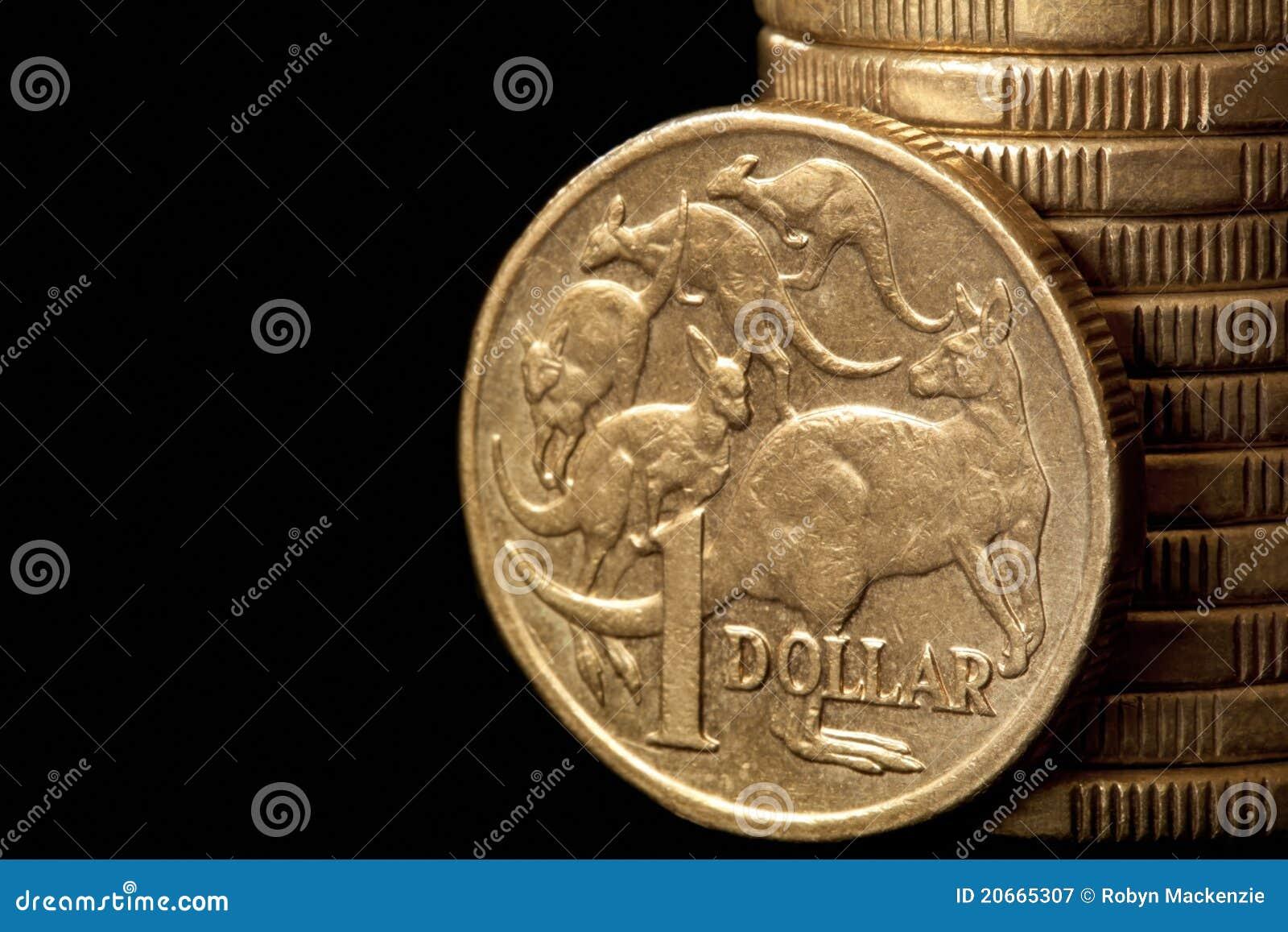 Australische Dollar Stockbild Bild Von Fotographie Münze 20665307