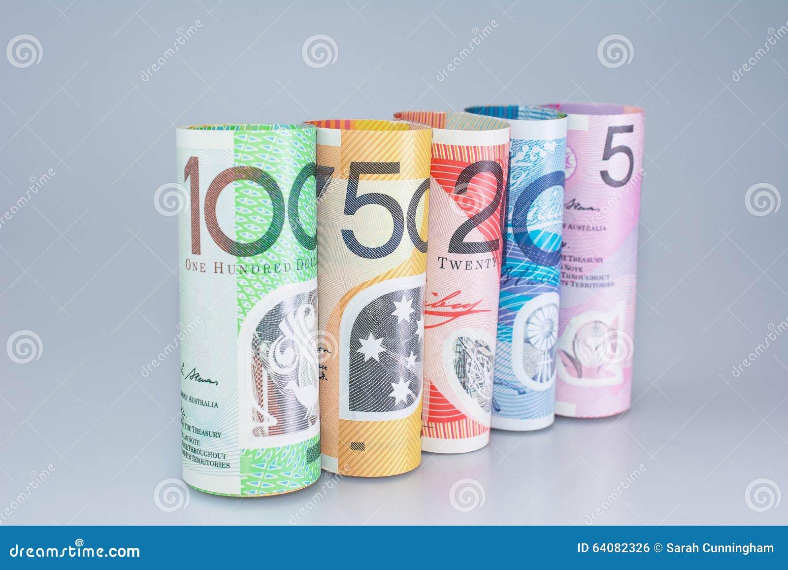 Australische Gerolde Geldbenamingen