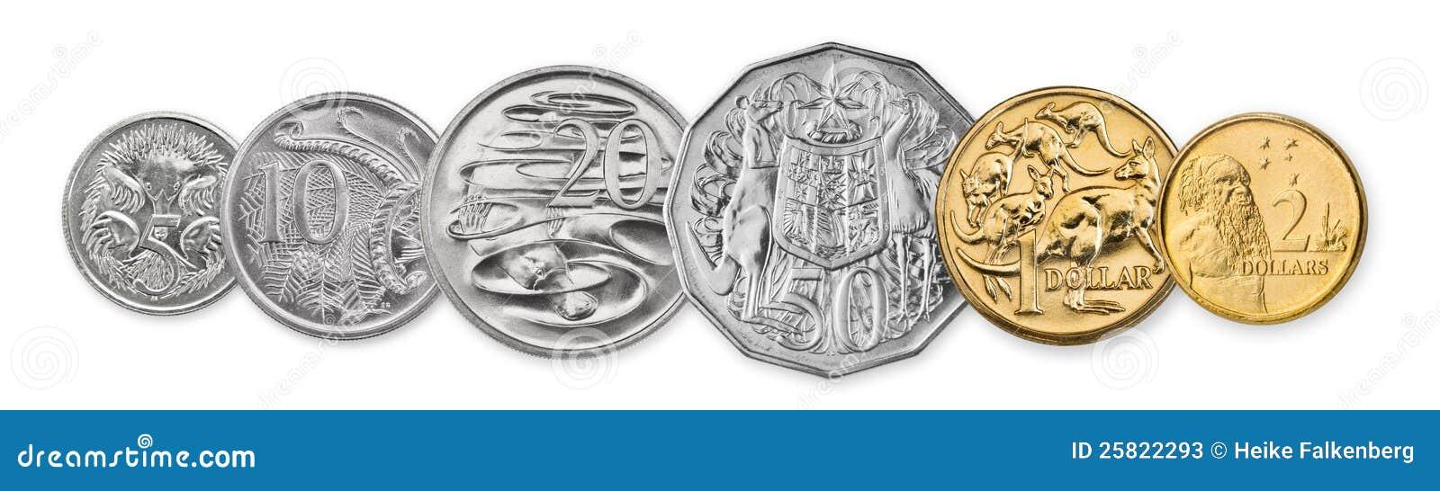 Australische Münzen Stockbild Bild Von Fülle Wert Handel 25822293
