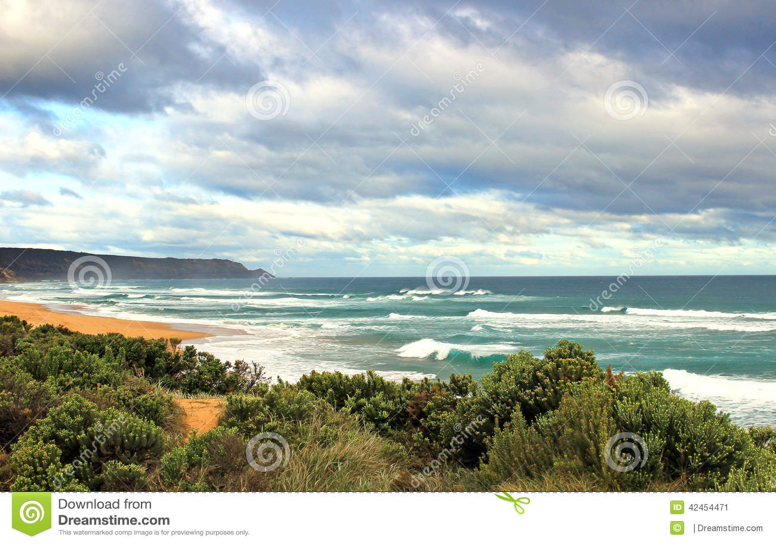 Australische Ozeanlandschaft