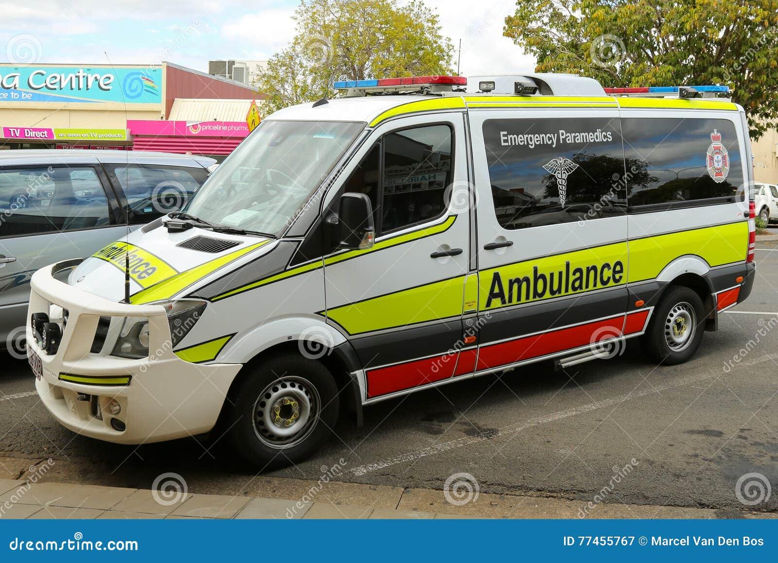 Australische Ziekenwagen