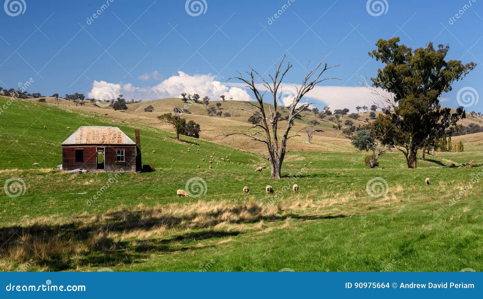 Australisches ländliches szenisches