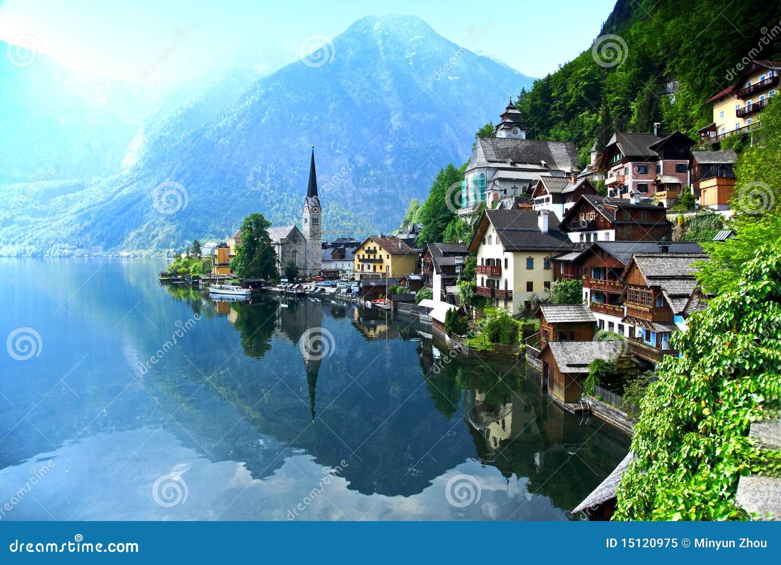 Austria hallhallstatt wierzch