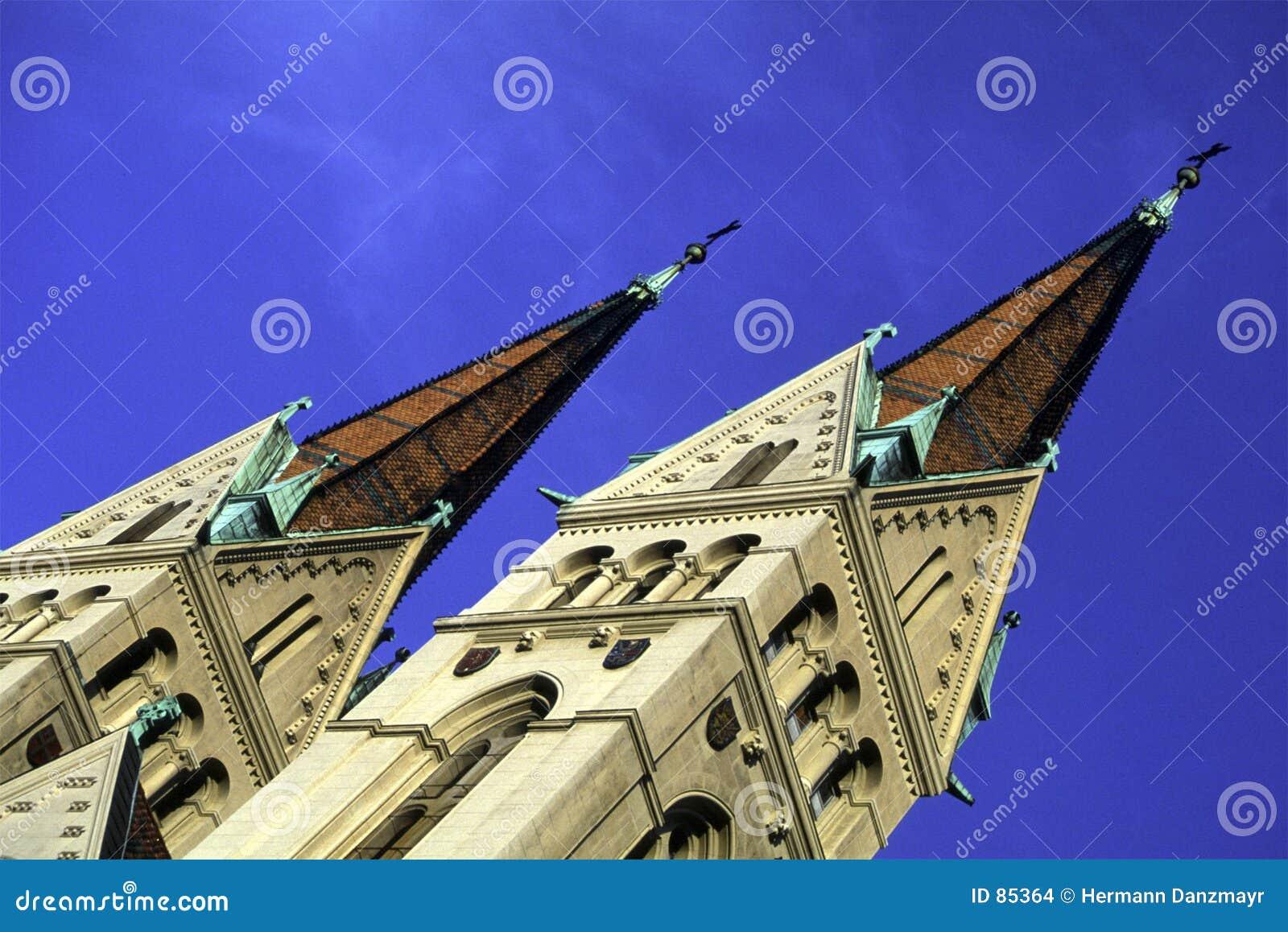 Austria kościół wieży