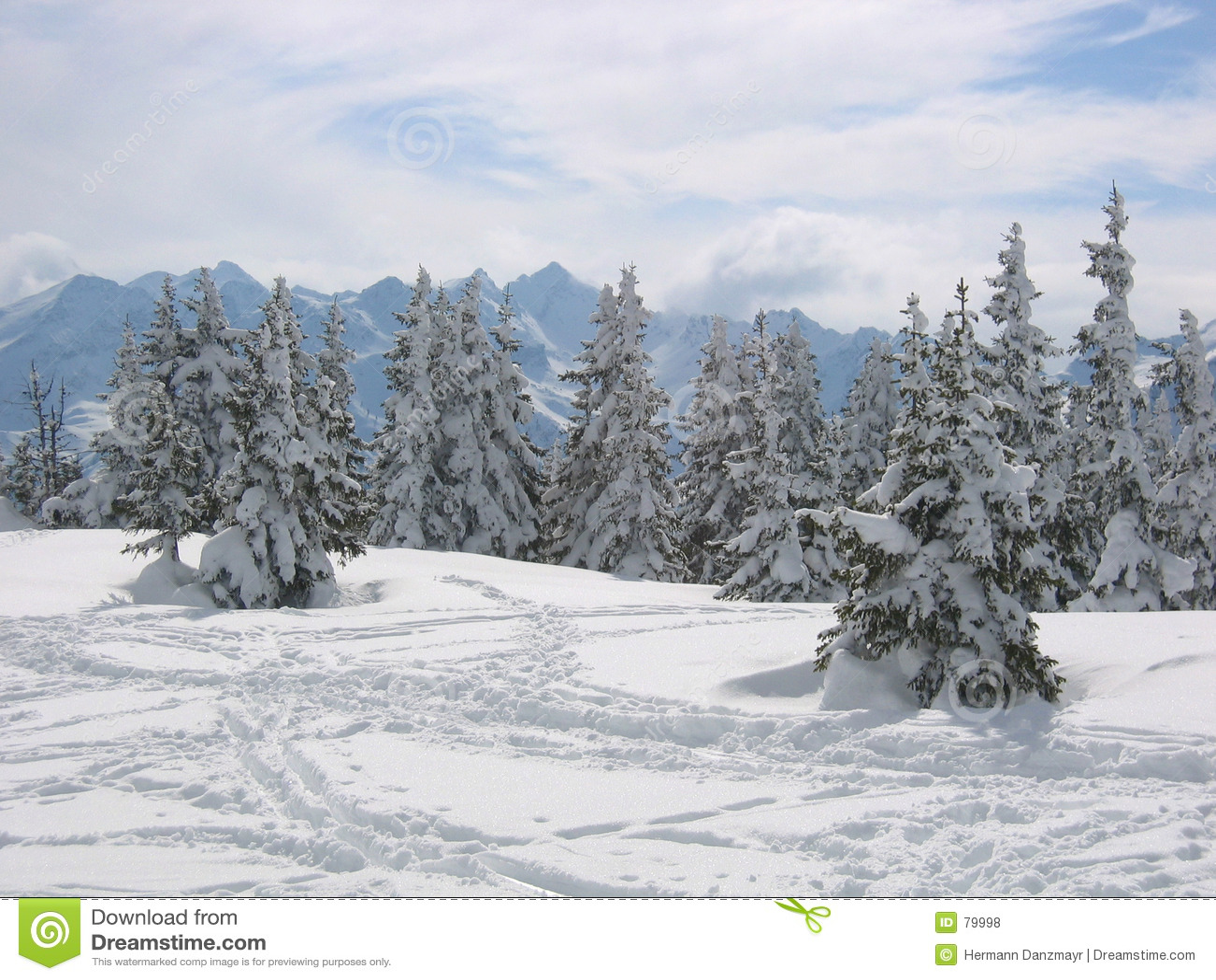 Austria krajobrazowa zimy śniegu