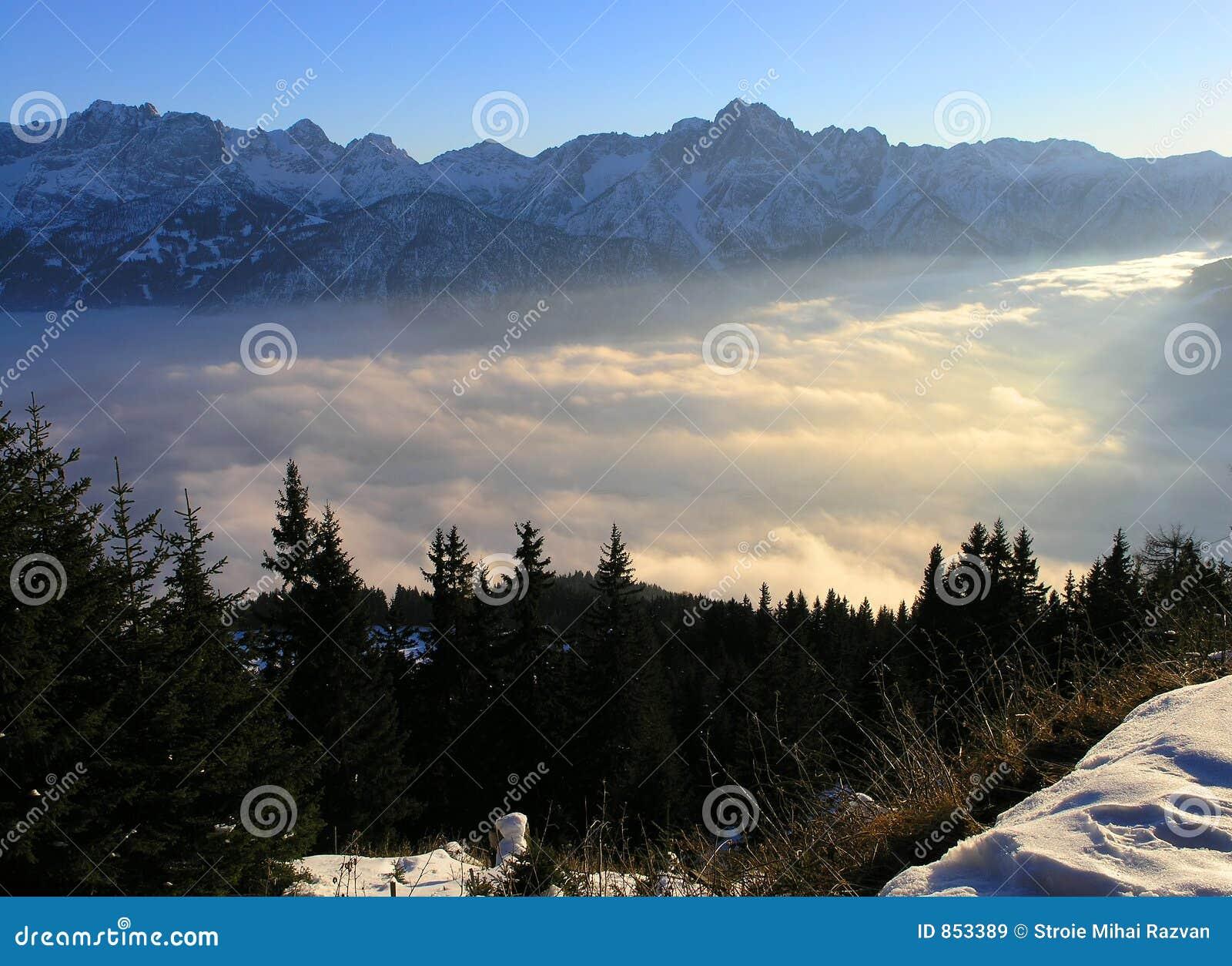 Austria lienz widok góry