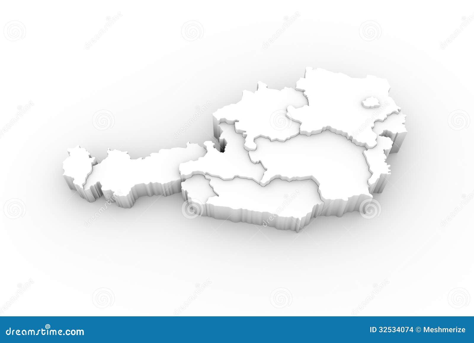 3d Karte Osterreich.3d Karte Osterreich Creactie