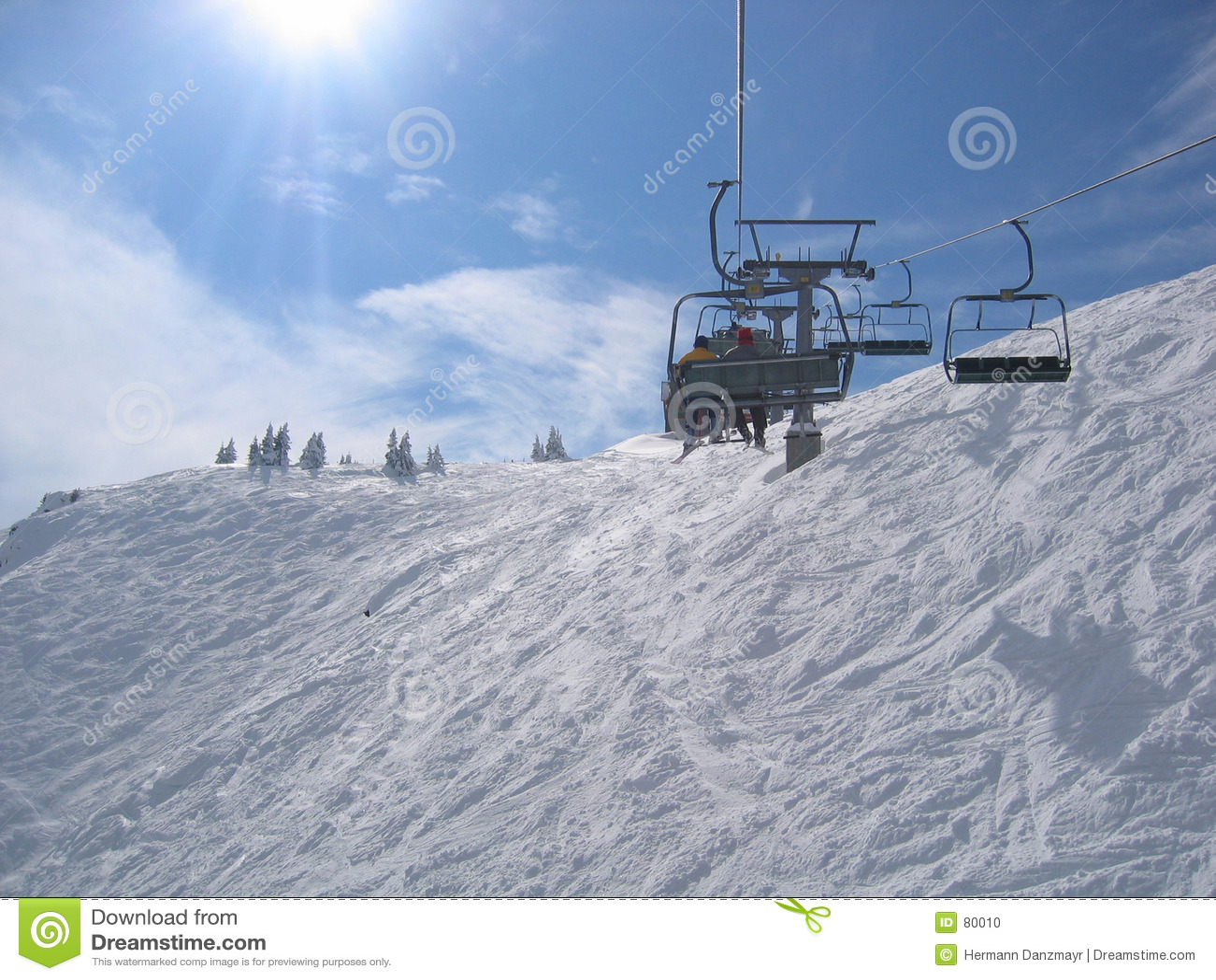 Austria obszaru na narty