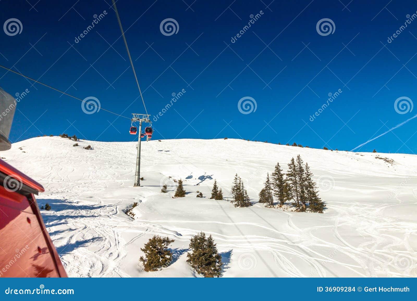Austriaccy Alps blisko Kitzbuehel