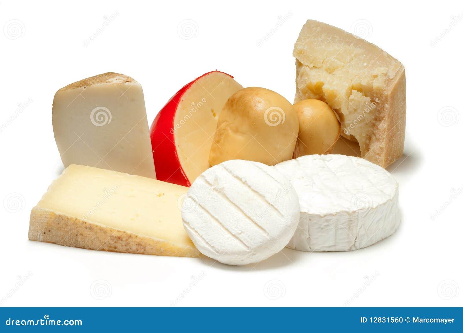 Auswahl des Käses