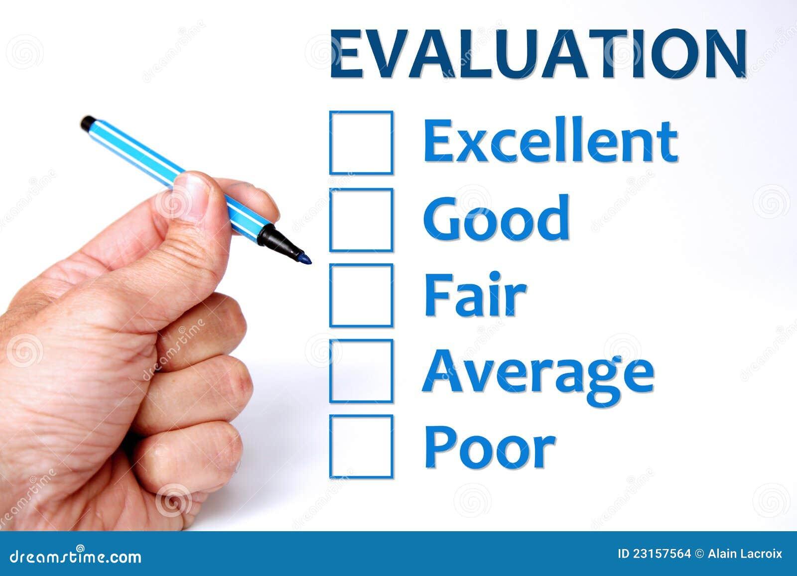 Evaluation Auswertung