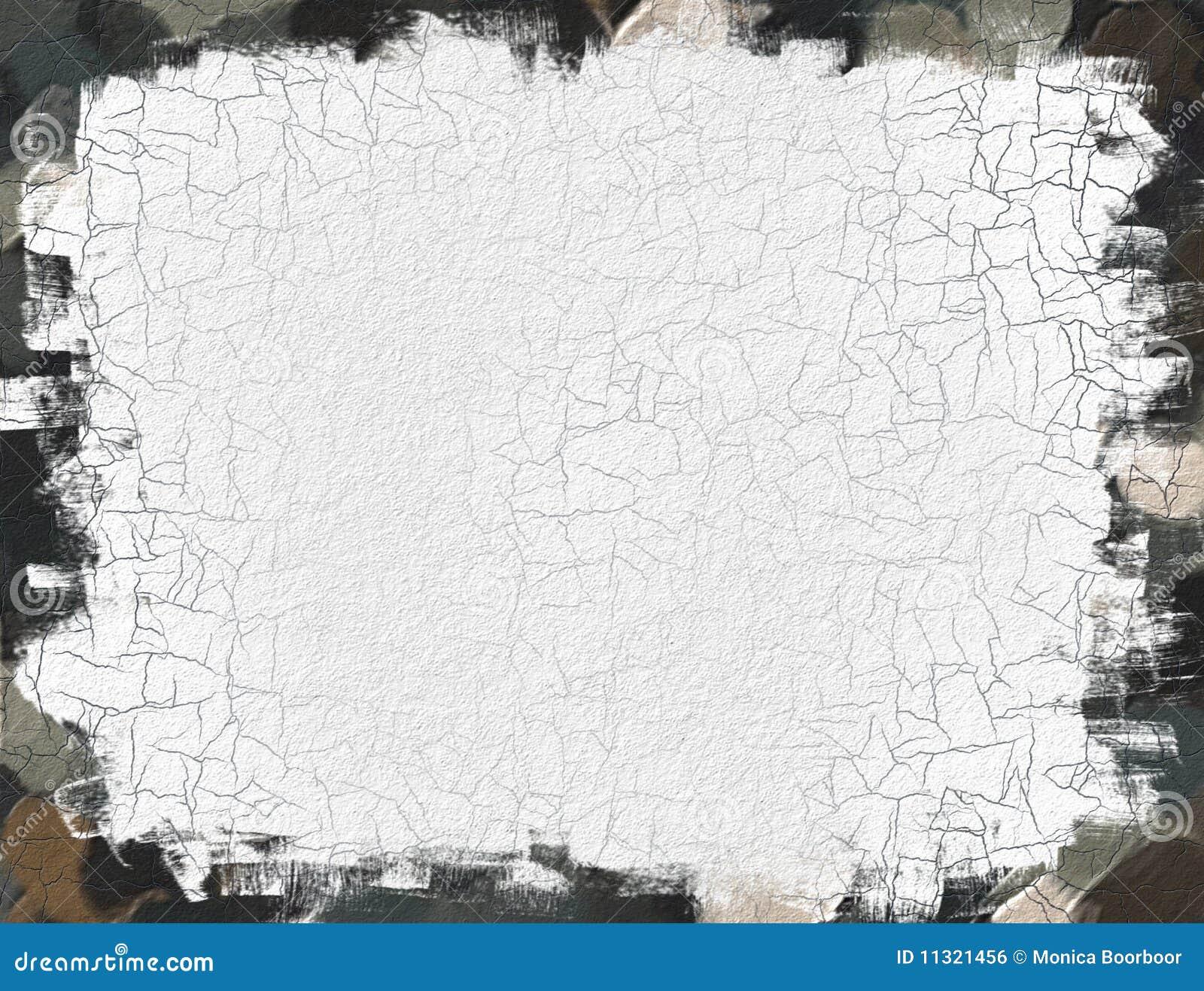 Auszug gemaltes Papier