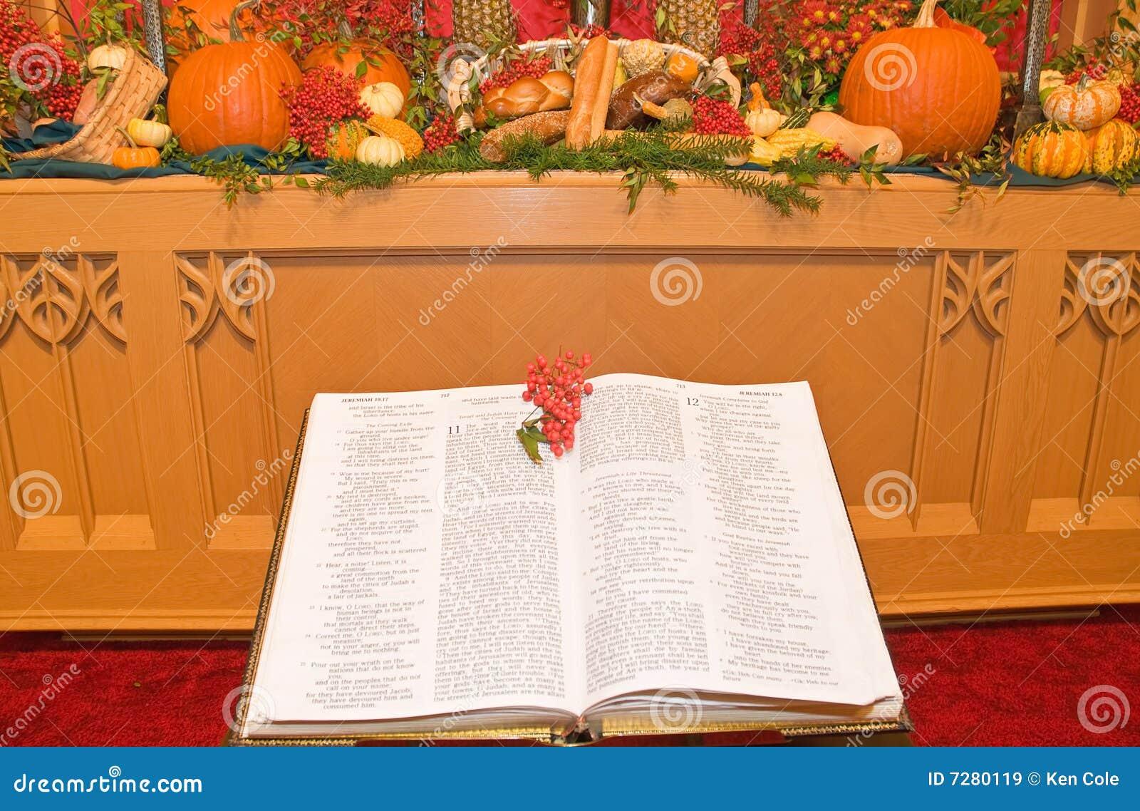 Autel d église d action de grâces