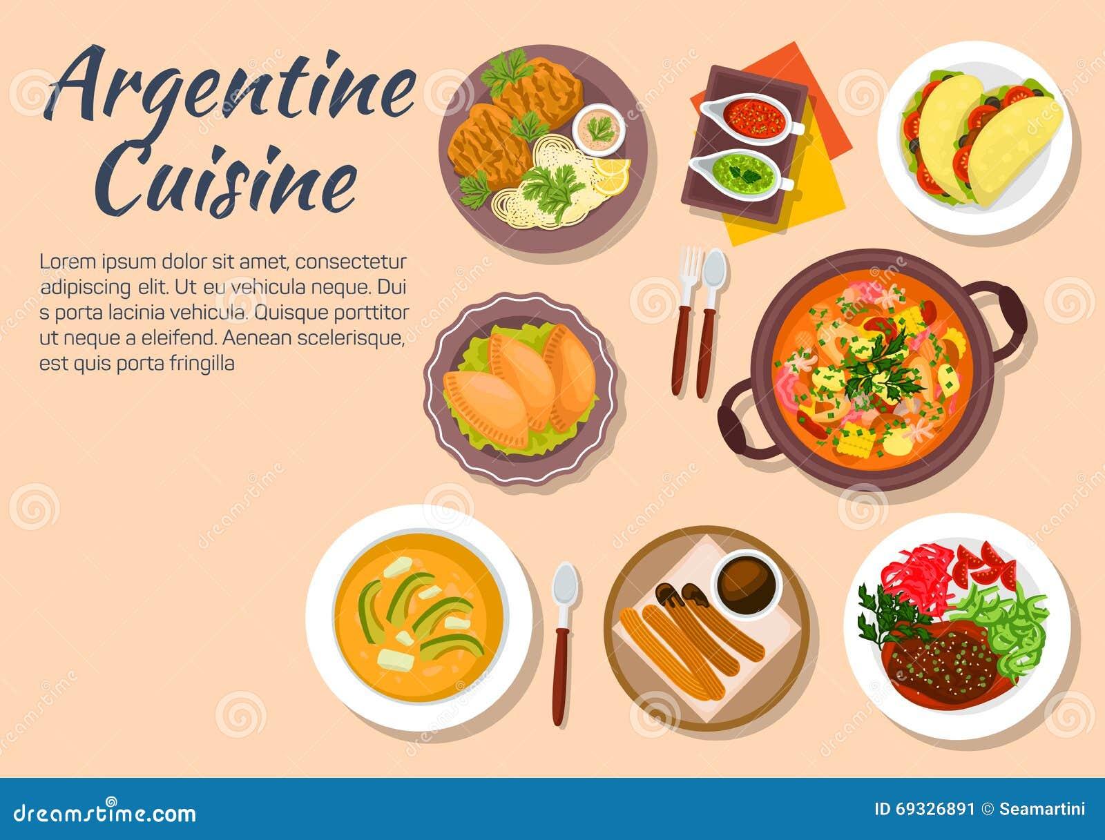 Autentisk disk av argentine kokkonst