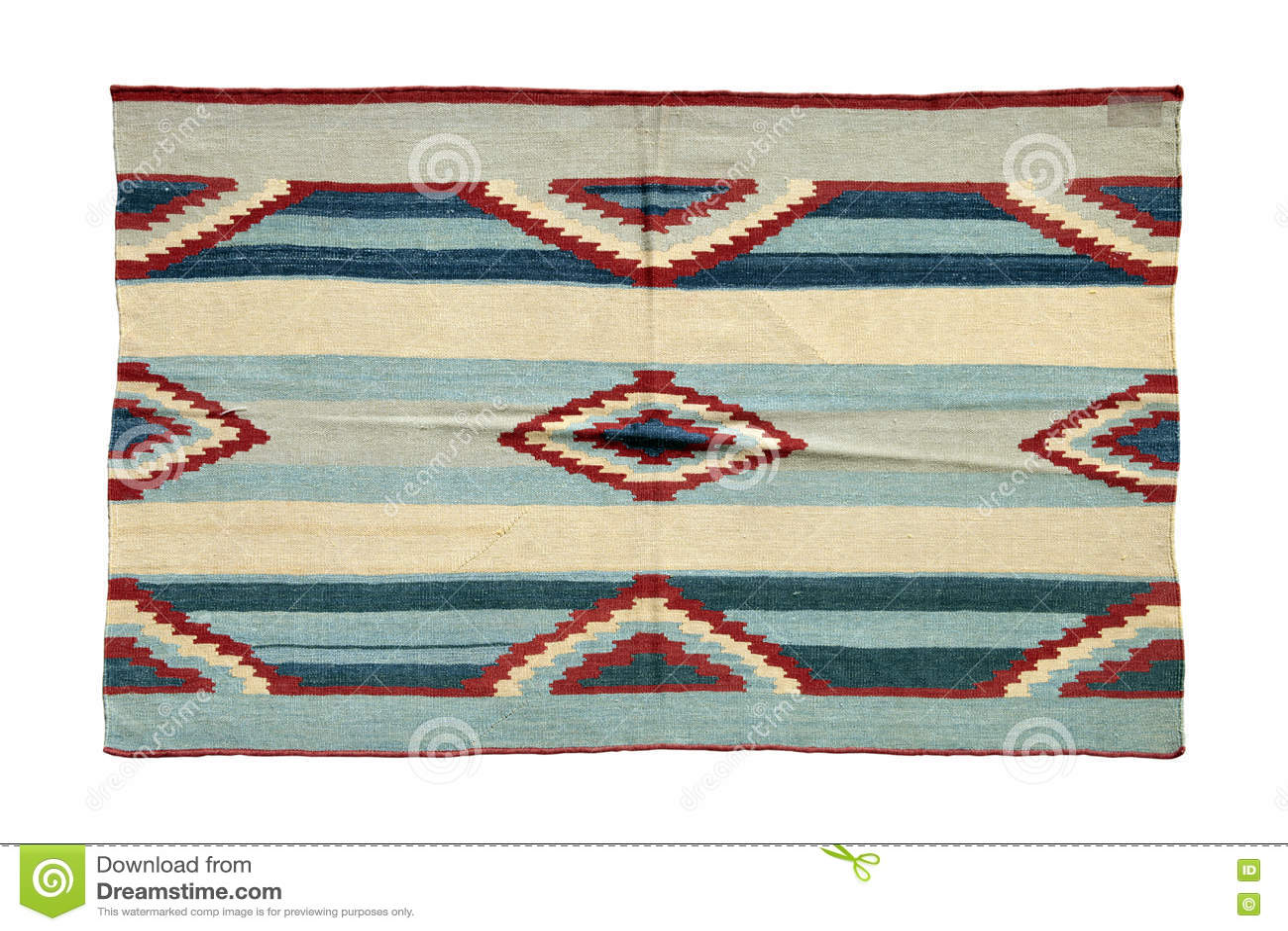 Autentisk handgjord turkisk matta