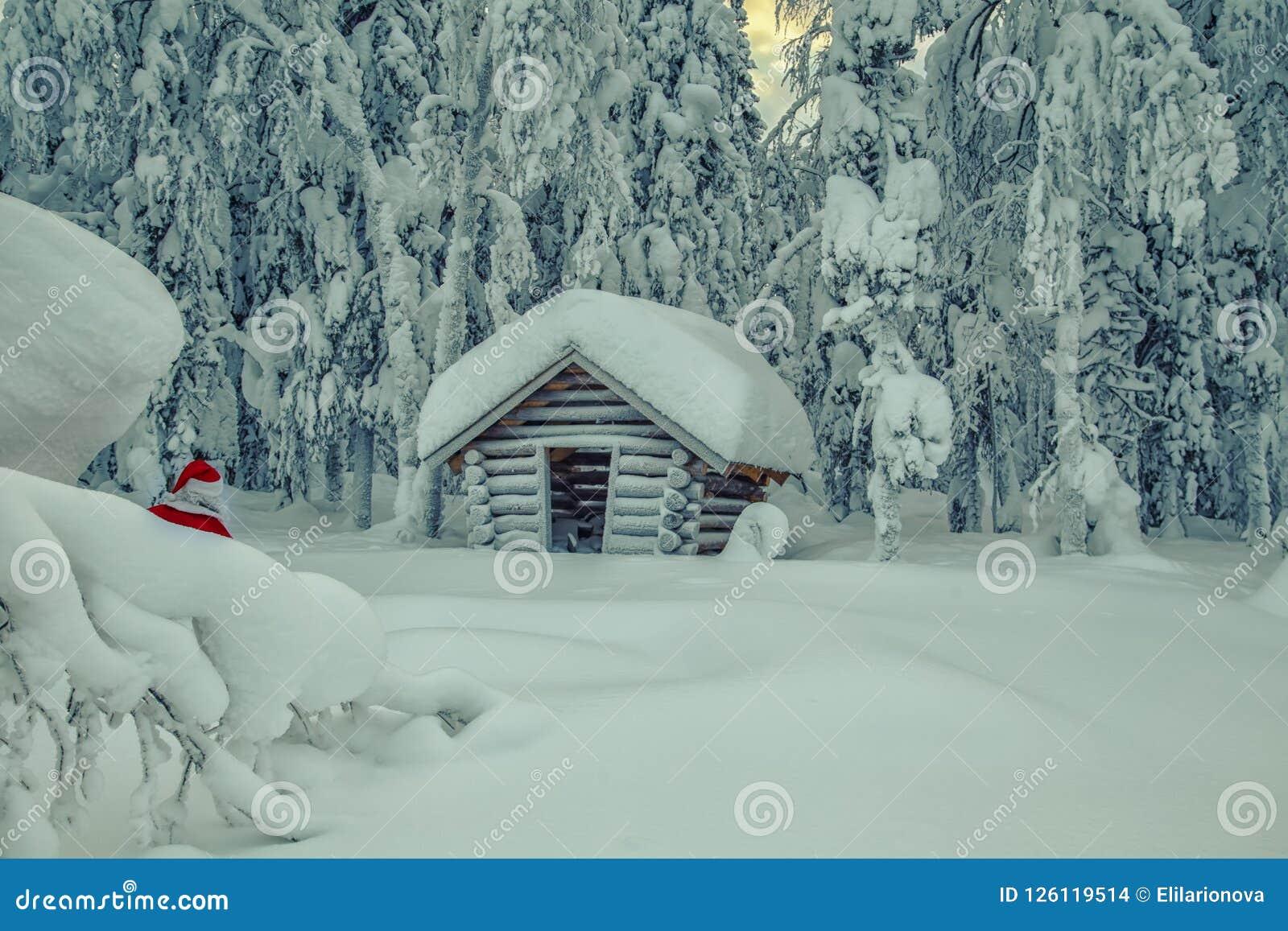 Autentiska Santa Claus i Lapland